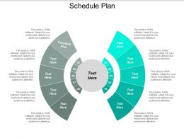 Schedule Plan Ppt Powerpoint Presentation Model Ideas Cpb
