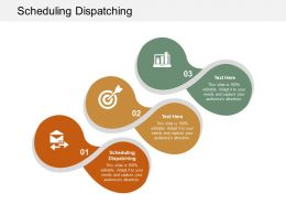 Scheduling Dispatching Ppt Powerpoint Presentation Styles Microsoft Cpb