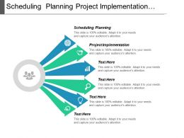 Scheduling Planning Project Implementation Change Management Gap Analysis Cpb