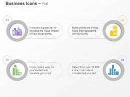 School Bank Apartment Business Place Ppt Icons Graphics