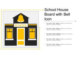 School House Board With Bell Icon