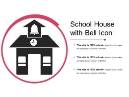 School House With Bell Icon