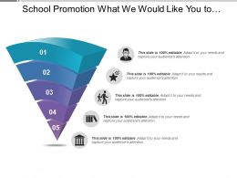 School Promotion What We Would Like You To Know More