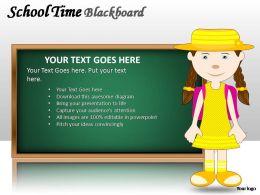 school_time_blackboard_powerpoint_presentation_slides_Slide01