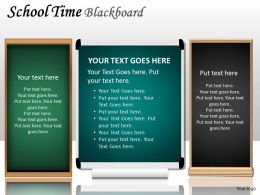 School Time Blackboard PPT 10