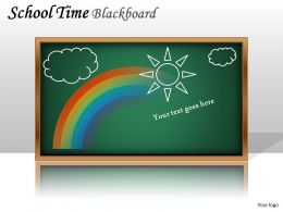School Time Blackboard PPT 2