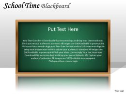 School Time Blackboard PPT 4