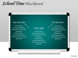 School Time Blackboard PPT 5