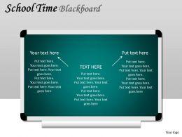 School Time Blackboard PPT 5