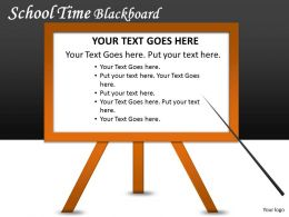 School Time Blackboard PPT 6
