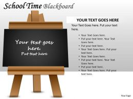 School Time Blackboard PPT 7
