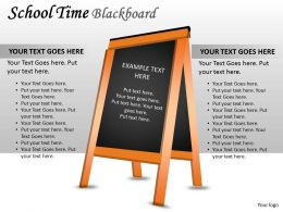 School Time Blackboard PPT 8