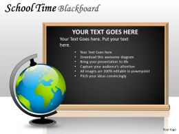 School Time Blackboard PPT 9