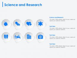 Science And Research Ppt Powerpoint Presentation Icon Styles