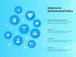 Science For Environmental Policy Ppt Powerpoint Presentation File Graphics Download