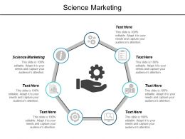 Science Marketing Ppt Powerpoint Presentation Model Good Cpb