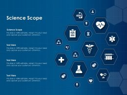Science Scope Ppt Powerpoint Presentation Icon Example