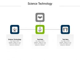 Science Technology Ppt Powerpoint Presentation Visual Aids Slides Cpb