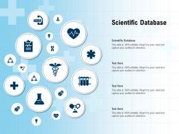 Scientific Database Ppt Powerpoint Presentation Gallery Gridlines