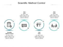 Scientific Method Control Ppt Powerpoint Presentation Styles Microsoft Cpb