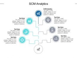 SCM Analytics Ppt Powerpoint Presentation Icon File Formats Cpb