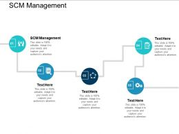 SCM Management Ppt Powerpoint Presentation Infographics Samples Cpb