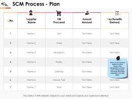 Scm Process Plan Slide2 Ppt Professional Ideas