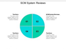 SCM System Reviews Ppt Powerpoint Presentation Layouts Clipart Images Cpb