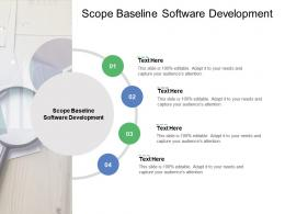 Scope Baseline Software Development Ppt Powerpoint Graphics Cpb