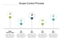 Scope Control Process Ppt Powerpoint Presentation Portfolio Graphics Template Cpb