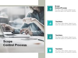 Scope Control Process Ppt Powerpoint Presentation Portfolio Influencers Cpb