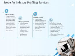 Scope For Industry Profiling Services Ppt Powerpoint Presentation Ideas Skills