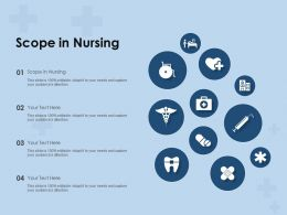 Scope In Nursing Ppt Powerpoint Presentation Portfolio Designs Download