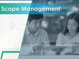Scope Management Powerpoint Presentation Slides