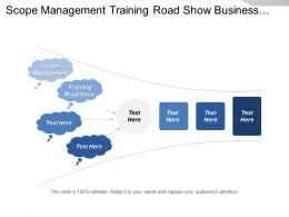 Scope Management Training Road Show Business Benefit Value Purpose