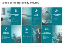 Scope Of The Hospitality Industry Of Institutional Ppt Powerpoint Presentation Infographics Show