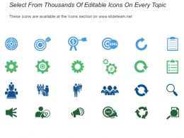 Scope Of Work Icon Powerpoint Slide