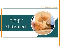 Scope Statement Powerpoint Presentation Slides