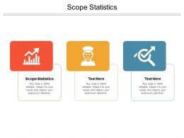 Scope Statistics Ppt Powerpoint Presentation Inspiration Layout Cpb