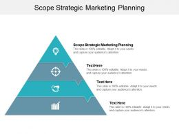 Scope Strategic Marketing Planning Ppt Powerpoint Presentation Icon Background Cpb