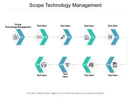 Scope Technology Management Ppt Powerpoint Presentation Infographic Template Layout Cpb