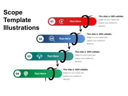 Scope Template Illustrations Powerpoint Slide Design Ideas