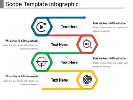 Scope Template Infographic Powerpoint Slide Designs Download
