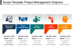 Scope Template Project Management Graphics Ppt Icon