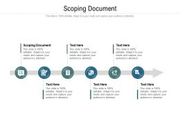 Scoping Document Ppt Powerpoint Presentation Ideas Inspiration Cpb