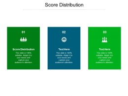 Score Distribution Ppt Powerpoint Presentation Outline Elements Cpb