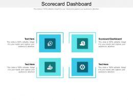 Scorecard Dashboard Ppt Powerpoint Presentation Layouts Gallery Cpb