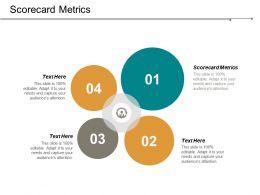 Scorecard Metrics Ppt Powerpoint Presentation File Graphics Design Cpb