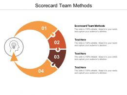 Scorecard Team Methods Ppt Powerpoint Presentation Show Layout Ideas Cpb
