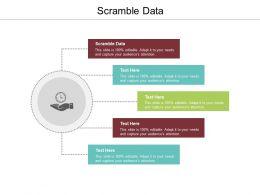 Scramble Data Ppt Powerpoint Presentation Model Demonstration Cpb